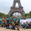 Cyderabadis Cycle 520 kms from London to Paris
