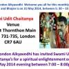 Swami Udit Chaitanya in London Croydon