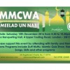MMCWA's Celebration of Meelad Un Nabi (PBUH) on 10th December