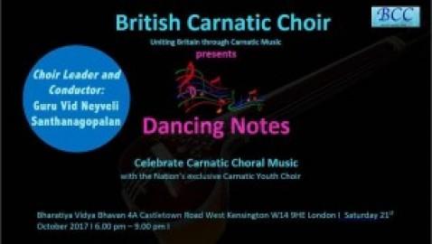 British Carnatic Choir Concert