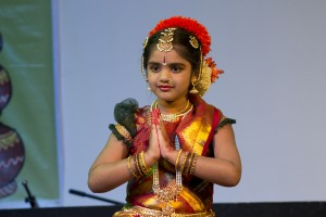 Ankita at Ugadi function by milton keynes telugu sangham