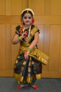 Ankita's Dance at the British Parliament building