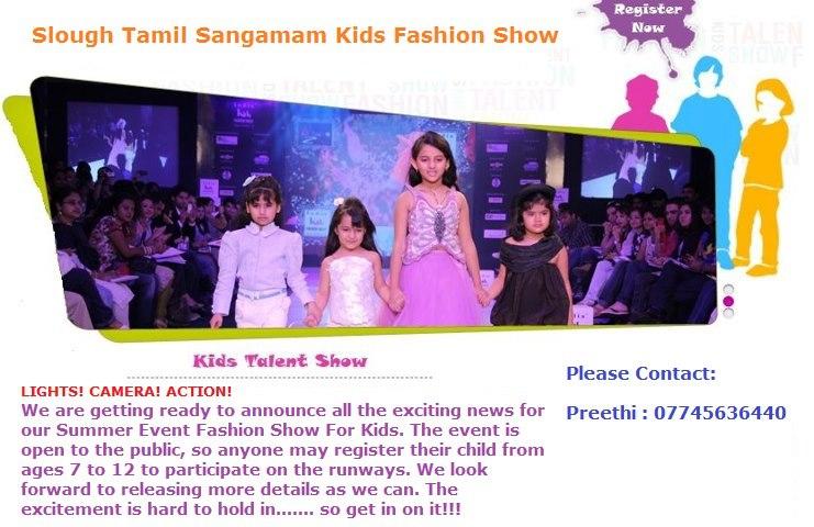 London Slough Tamil Sangamam - kids fashion show