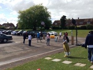 Sports activity by Kannadigaru UK