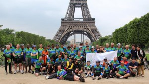Eight member team from the Hyderabad team cycled from London to Paris successfully!
