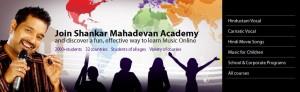 Shankar Mahadevan Oline Music Academy