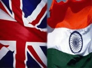 Britain-India-flag