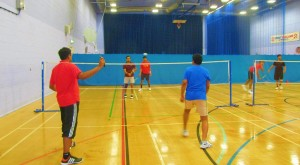 Kerala Association Badminton Matches in progress - Bristol,UK