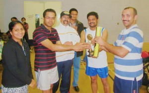 Kerala Association Bristol Winners  Trophy presentation