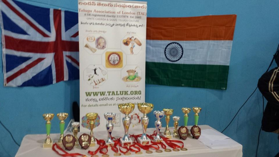 3rd National level Badminton Tournament in London by TAL