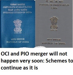 No changes to OCI and PIO
