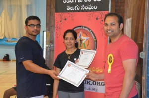 Badminton Championship - 2014 by Telugu Association of Reading