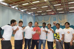 Badminton Championship - 2014 by Telugu Association of Reading & Around
