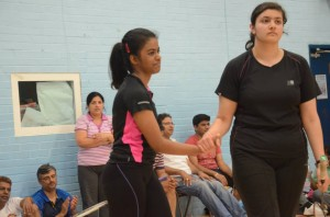 Badminton Championship - 2014 by Telugu Association of Reading and Around
