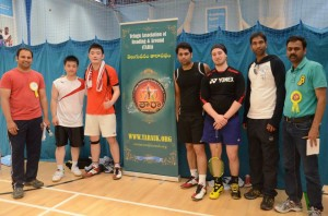 Badminton Championship - 2014 by Telugu Association of Reading and Around (TARA)