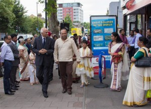 High Commissioner India visiting MAUK