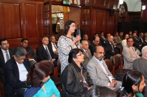 Public at High Commission Office London