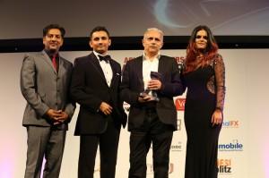 Nitin Ganatra, sponsor, Hanif Kureishi CBE, DJ Neev