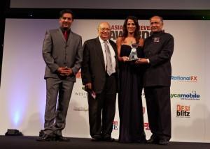 Woman of the Year Nitin Ganatra Raj Loomba Priya Lakhani CB Patel
