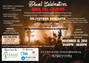 Diwali Celebrations by Telugu Association of Reading & Around (TARA)