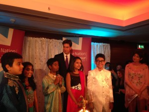 Labour Leader - Ed Miliband at Diwali Event