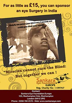 Sankara Eye Charity in Europe