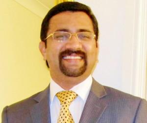 South Indian Origin Conservative Councillor Tom Aditya