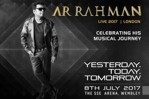 A R RAHHAM UK TOUR 2017