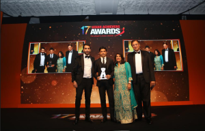 Farhan Akhtar wins at the 17th Annual Asian Achievers Awards