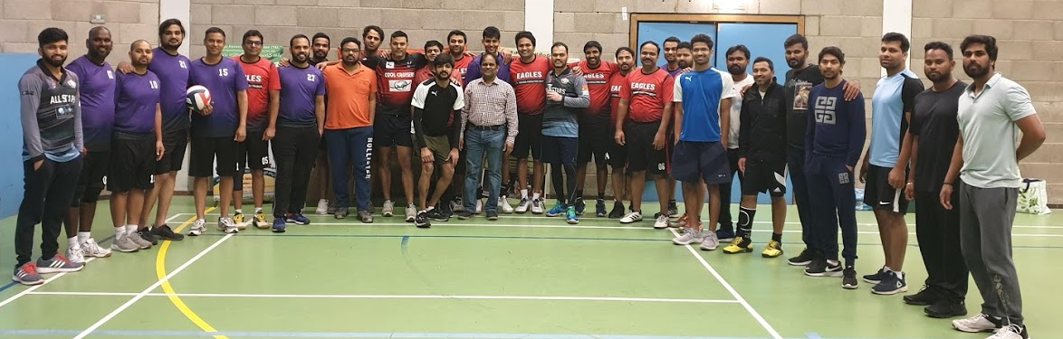 Volleyball Tournament 2020 - British South Indians -Telugu Association London