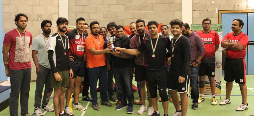 Volleyball Tournament 2020 by British South Indians Telugu Association London
